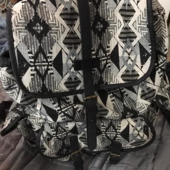 Handbags - Tribal Print Backpack